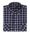 Bawełniana koszula męska Mr.Unique w kratkę 2110