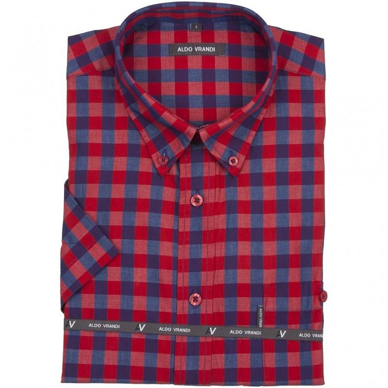 Koszula Aldo Vrandi z krótkim rękawem Rozmiar L