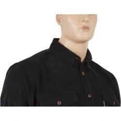 Granatowa koszula sztruksowa Dockland